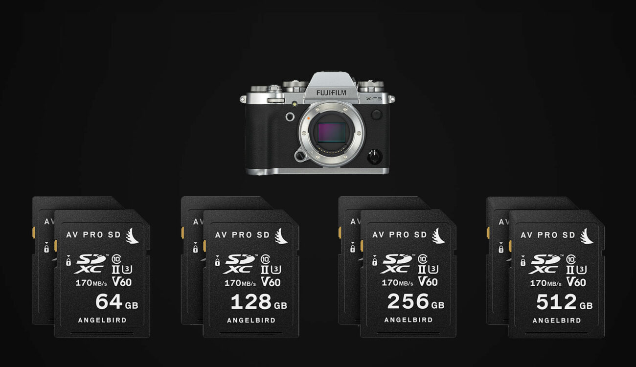 Angelbird Match Pack SDXC Memory Cards For FUJIFILM X-T3 - Now Available