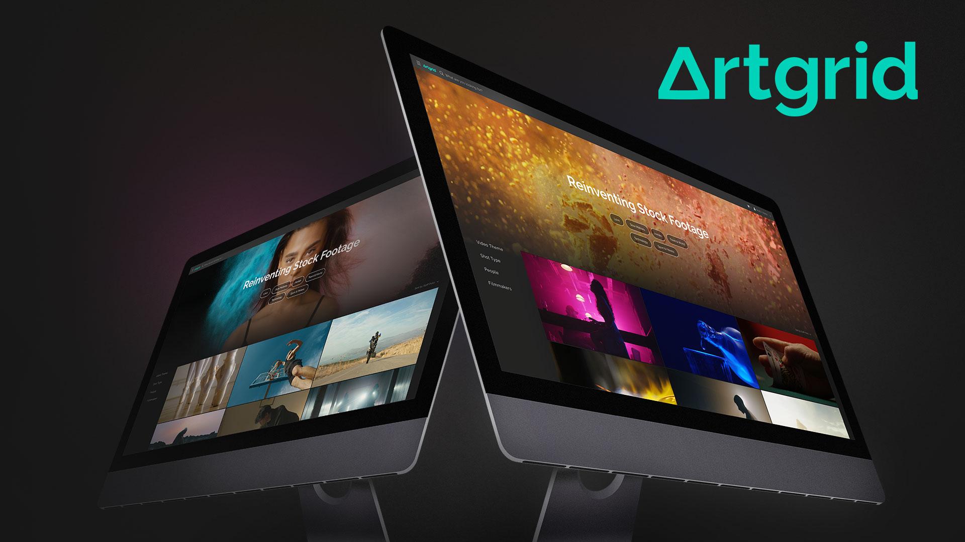 Artgrid – El nuevo sitio de licencias de imágenes de Artlist
