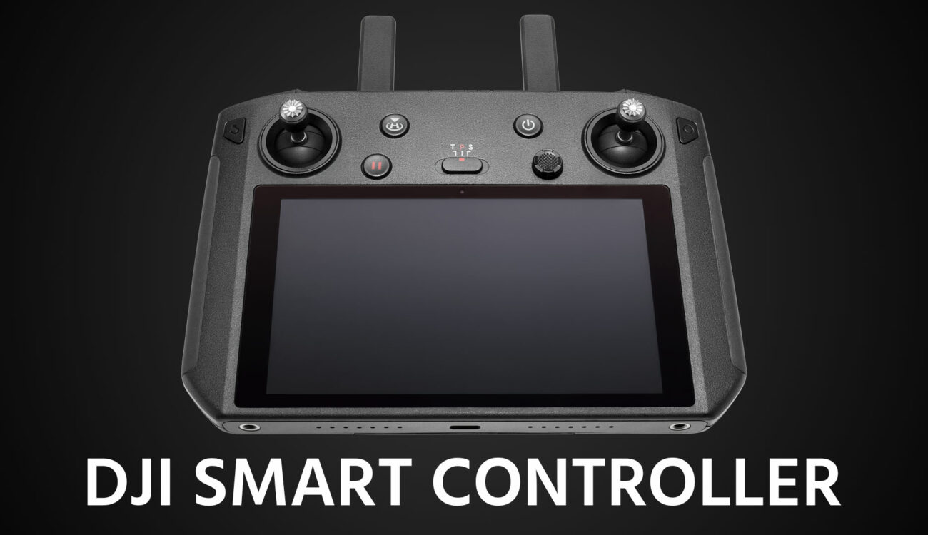 DJI Smart Controller With Built In Ultra Bright HD Screen Announced