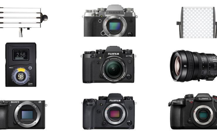 Top 9 Deals of the Week – Spekular Light, Core SWX Battery, FUJIFILM, Sony and Panasonic Cameras