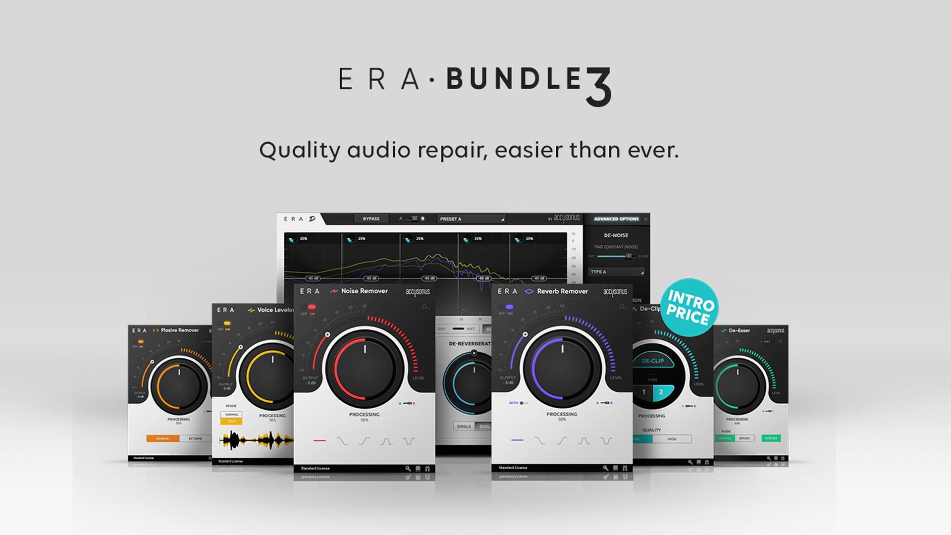 ERA Bundle 3.0 - アップデートとDe-Clipperプラグインの追加