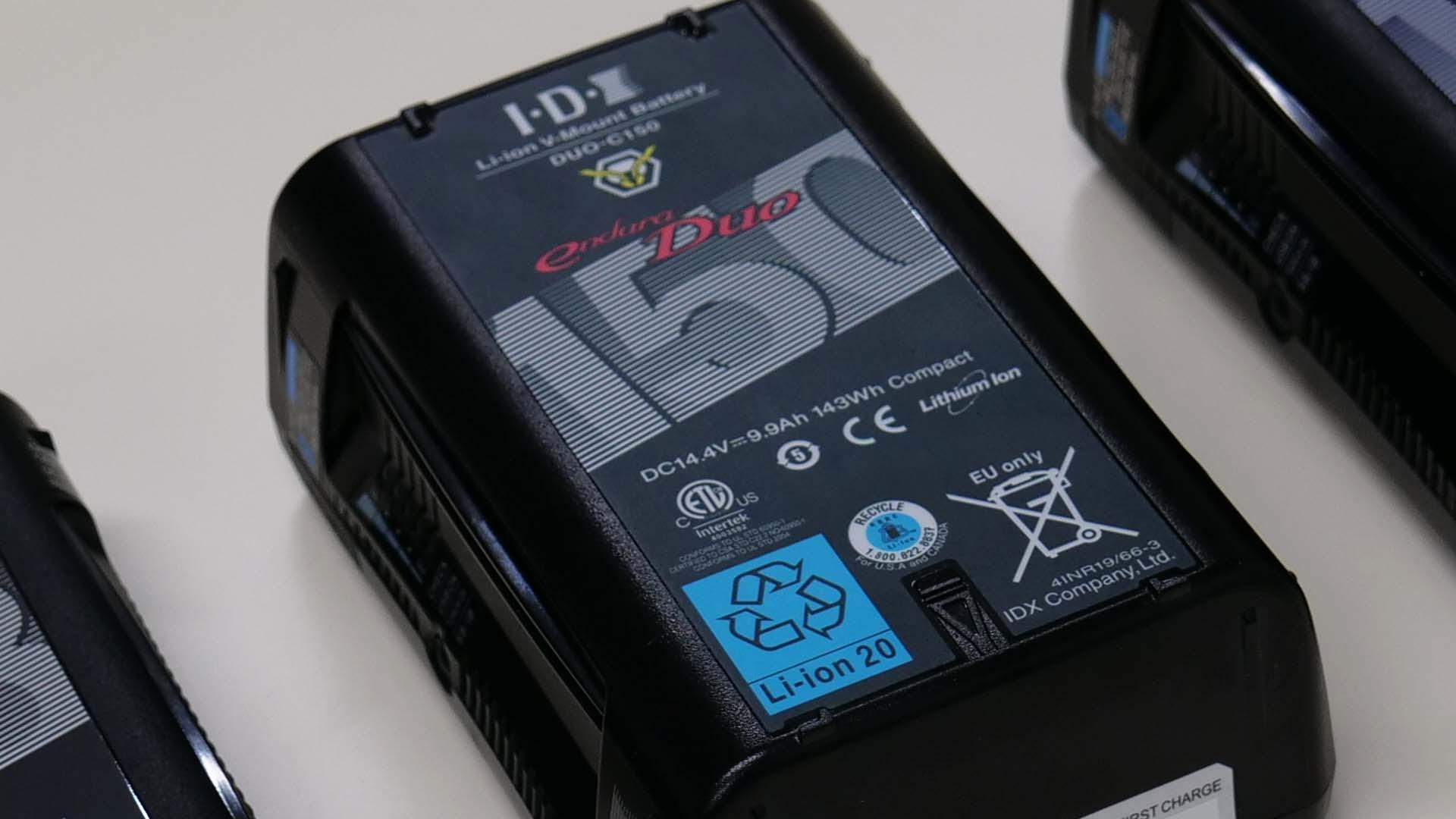 IDXが新バッテリーをリリース