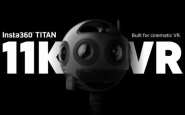 Insta360 Titan - 11K Resolution for Cinematic VR Video