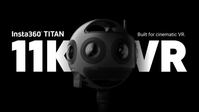 Insta360 Titan – Resolución 11K para videos cinemáticos de RV