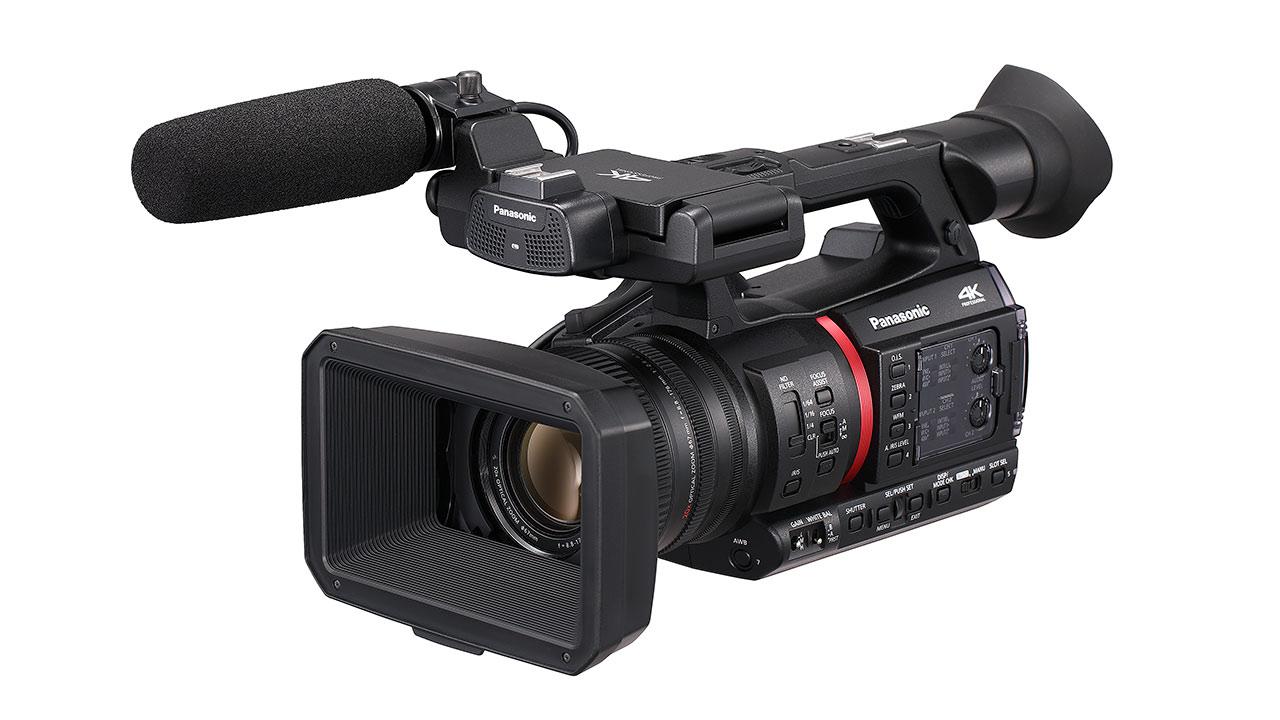 パナソニックがAG-CX350を発表 - 4K 10bit 60p収録できるフラグシップビデオカメラ