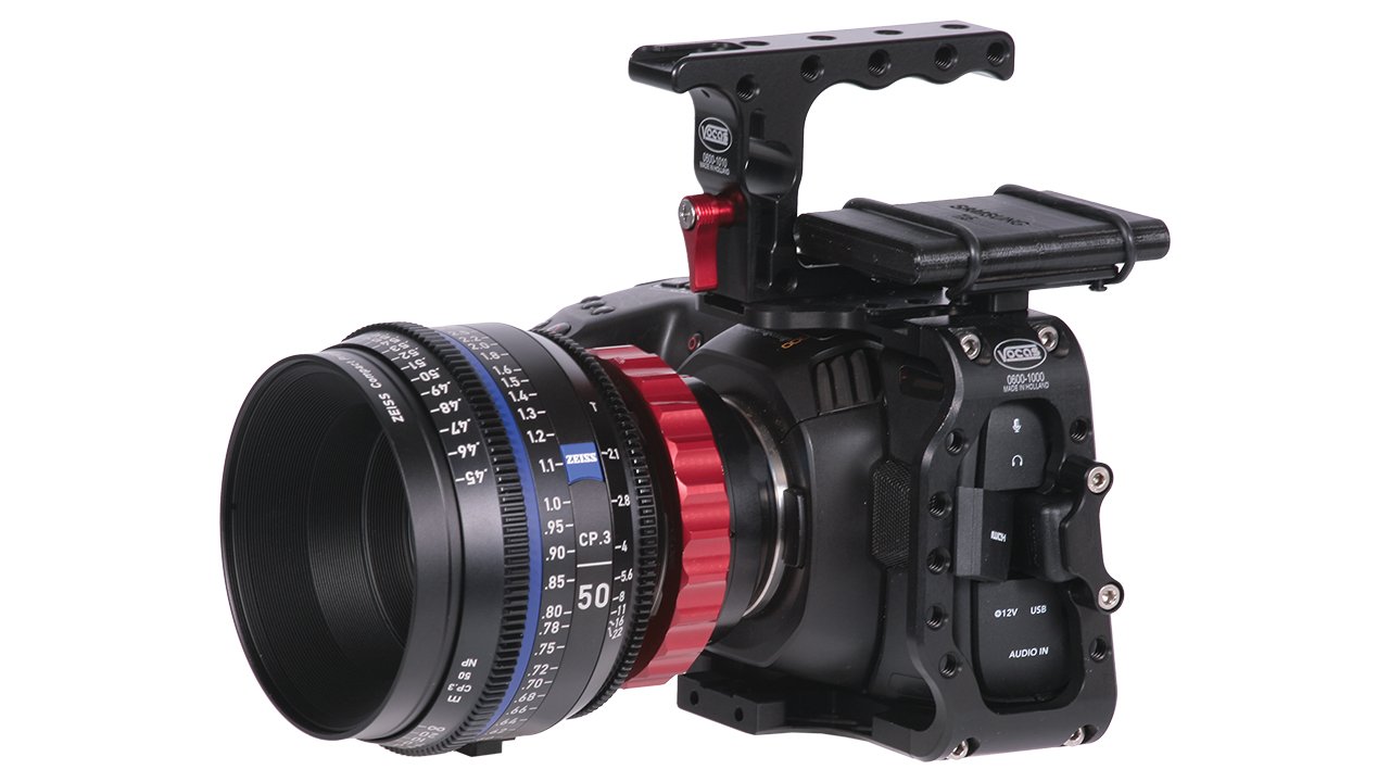 Armazón Vocas C-Cage para la cámara Blackmagic Pocket Cinema 4K