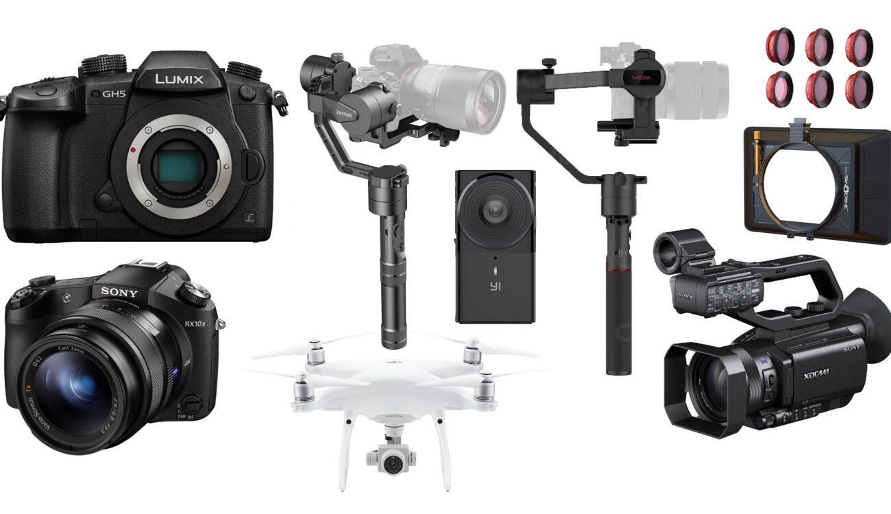 This Week's Top 10 Deals for Filmmakers – DJI Phantom 4, GH5, Sony RX10 II, Gimbals and More