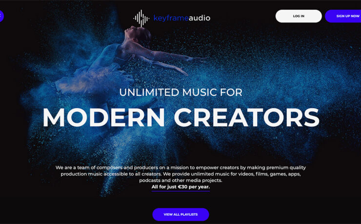 Keyframe Audio - New Affordable Royalty Free Music Licensing Service