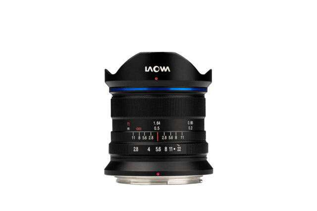 Laowa 9mm f/2.8 DL Zero-D - widest lens for DJI X7 Drone Camera
