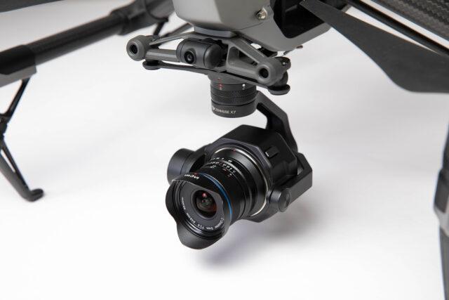Laowa 9mm f/2.8 DL Zero-D widest lens for dji drones
