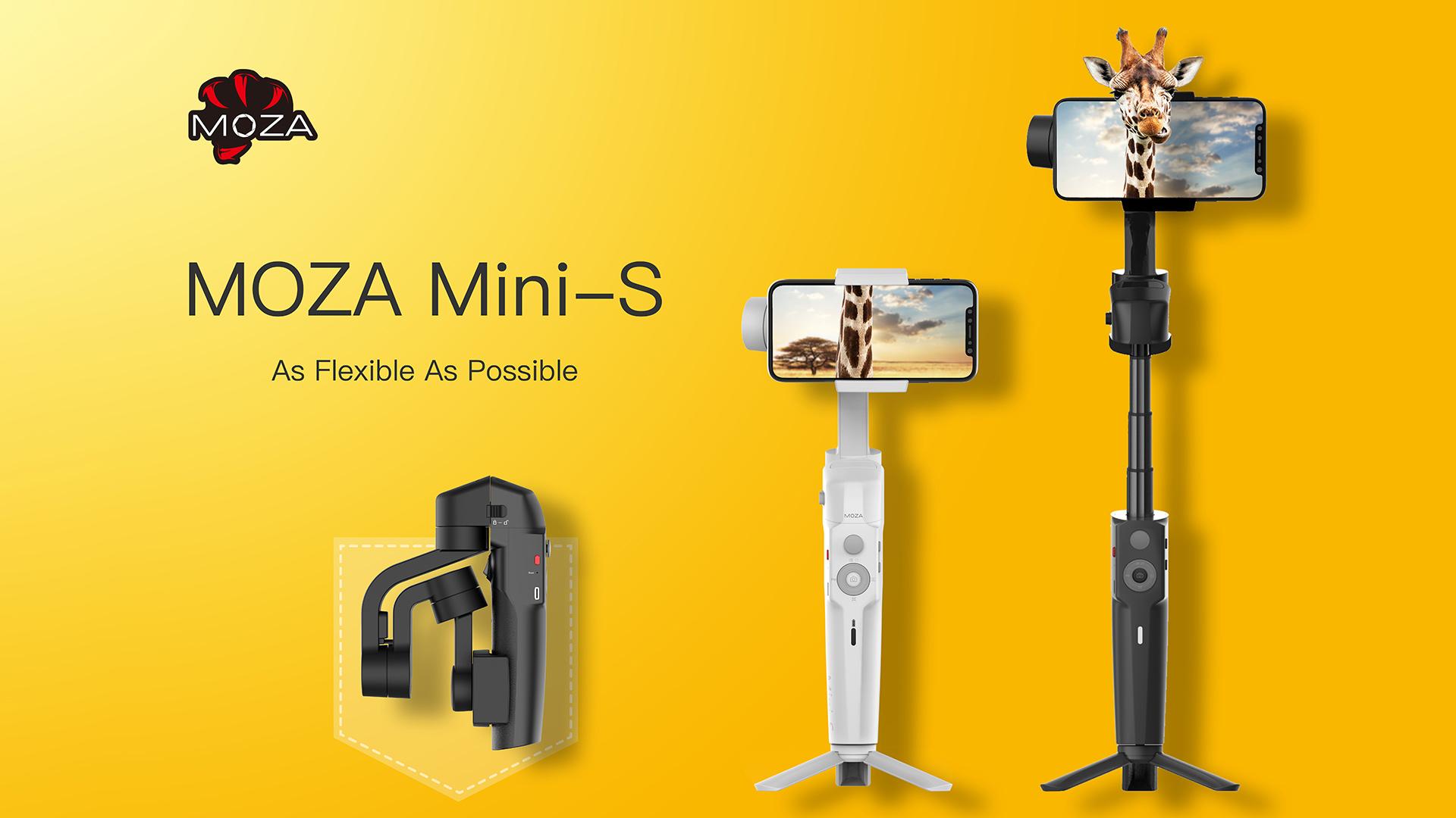 Smartphone Gimbal MOZA Mini-S revelaed at CES 2019 | cinema5D