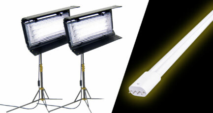Kino Flo Diva LED Upgrade, Affordable: Ushio ColourMax LED Tubes