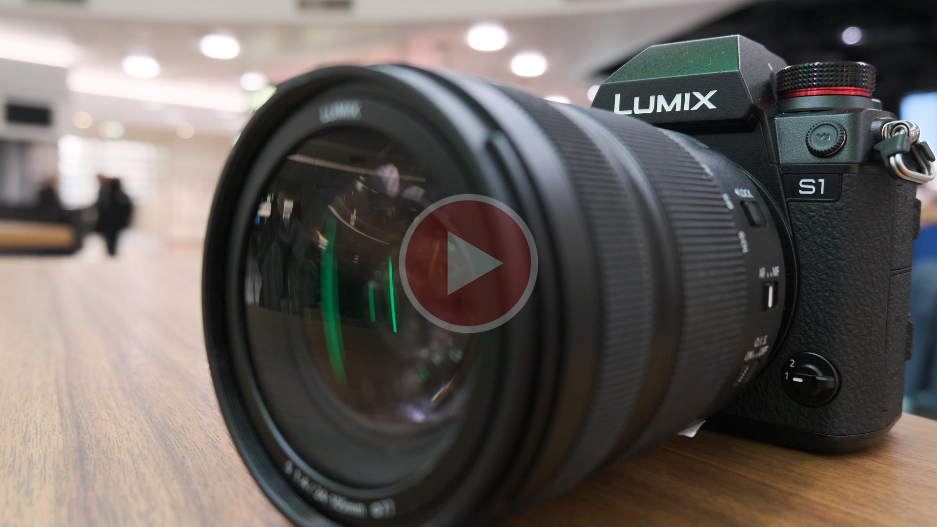 Lanzaron la Panasonic LUMIX S1 y la S1R – junto con tres nuevos lentes montura L