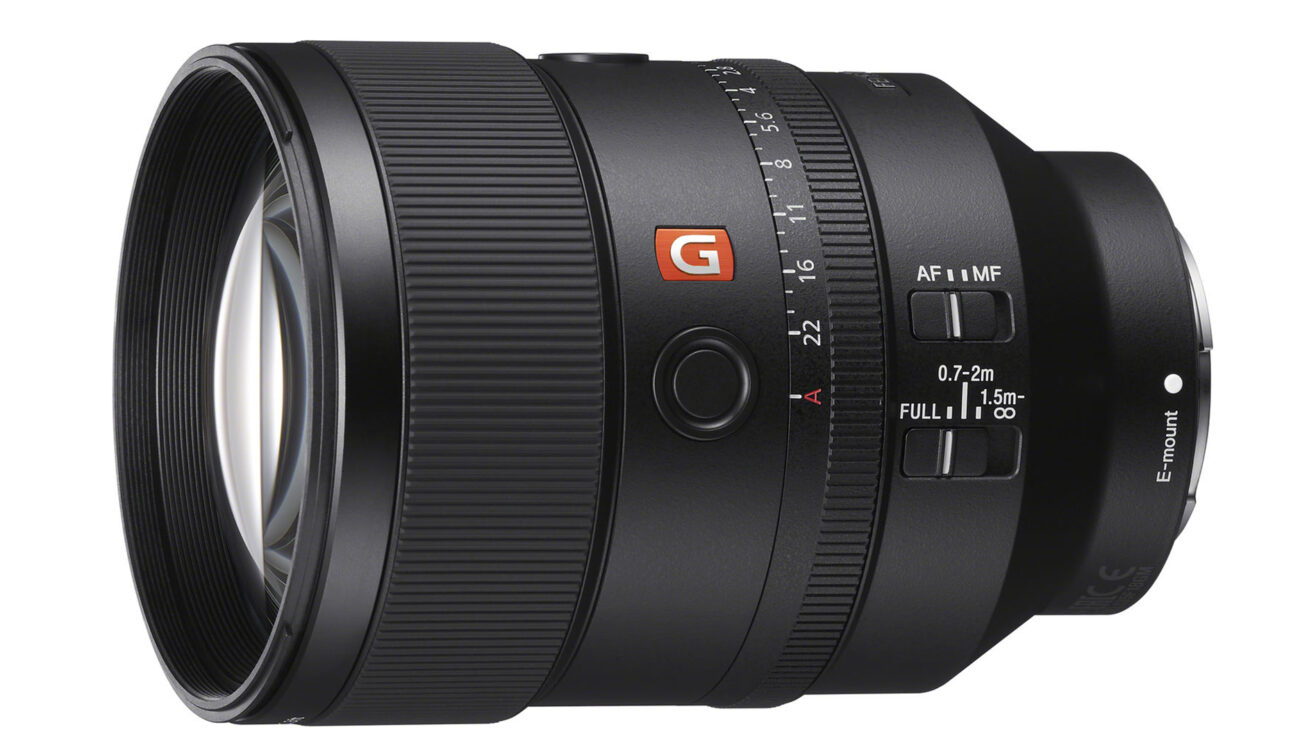 Sony FE 135mm f/1.8 GM Lens Announced