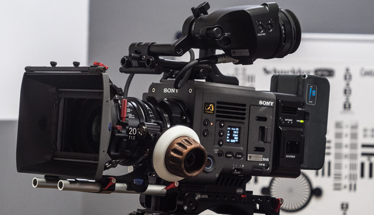 Sony VENICE Firmware 4.0 Adds Optional HFR Mode – 4K 120fps