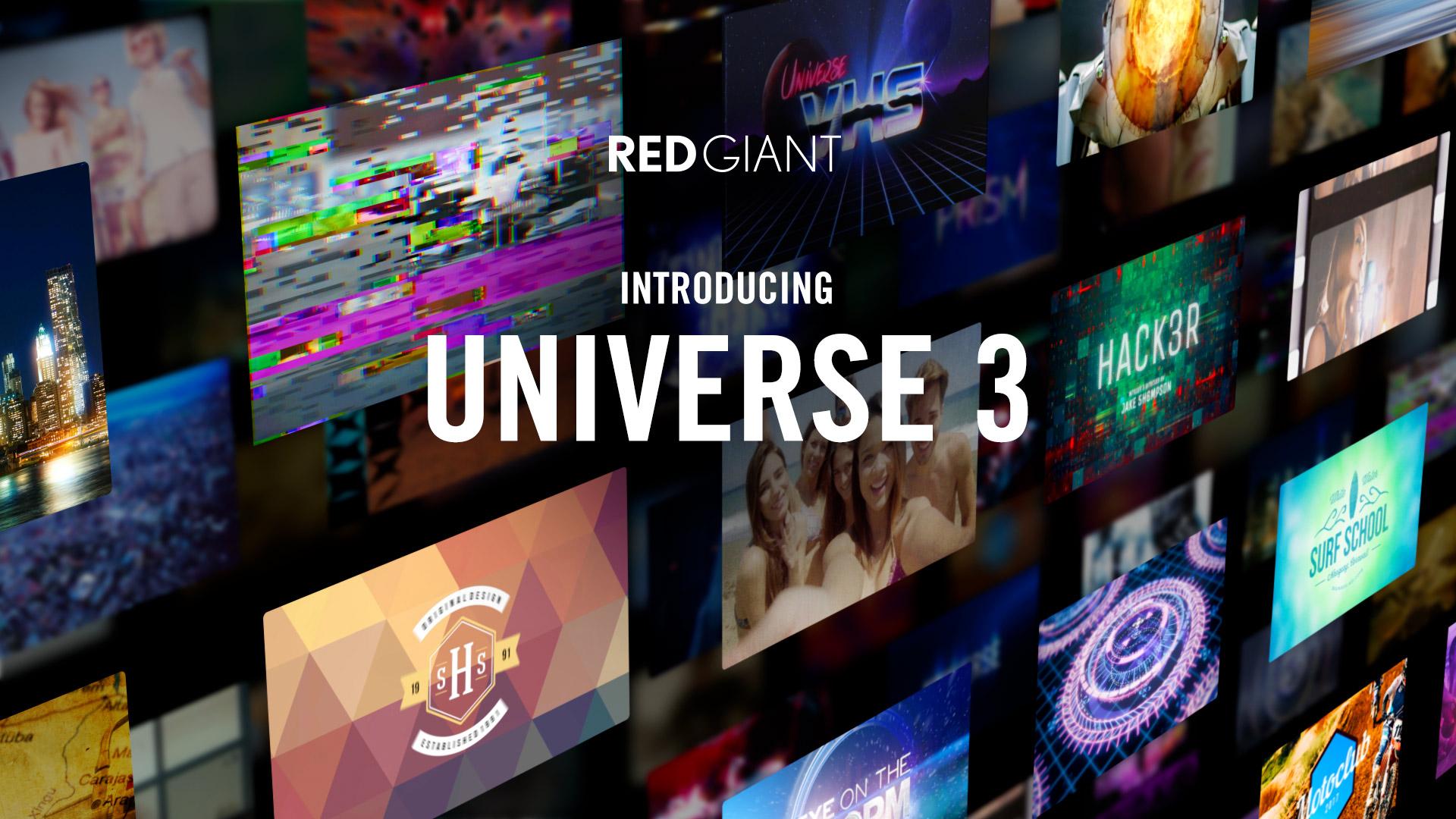 Red GiantがUniverse 3.0をリリース - NLEに組み込んで使えるテキストエフェクトソフトウエア