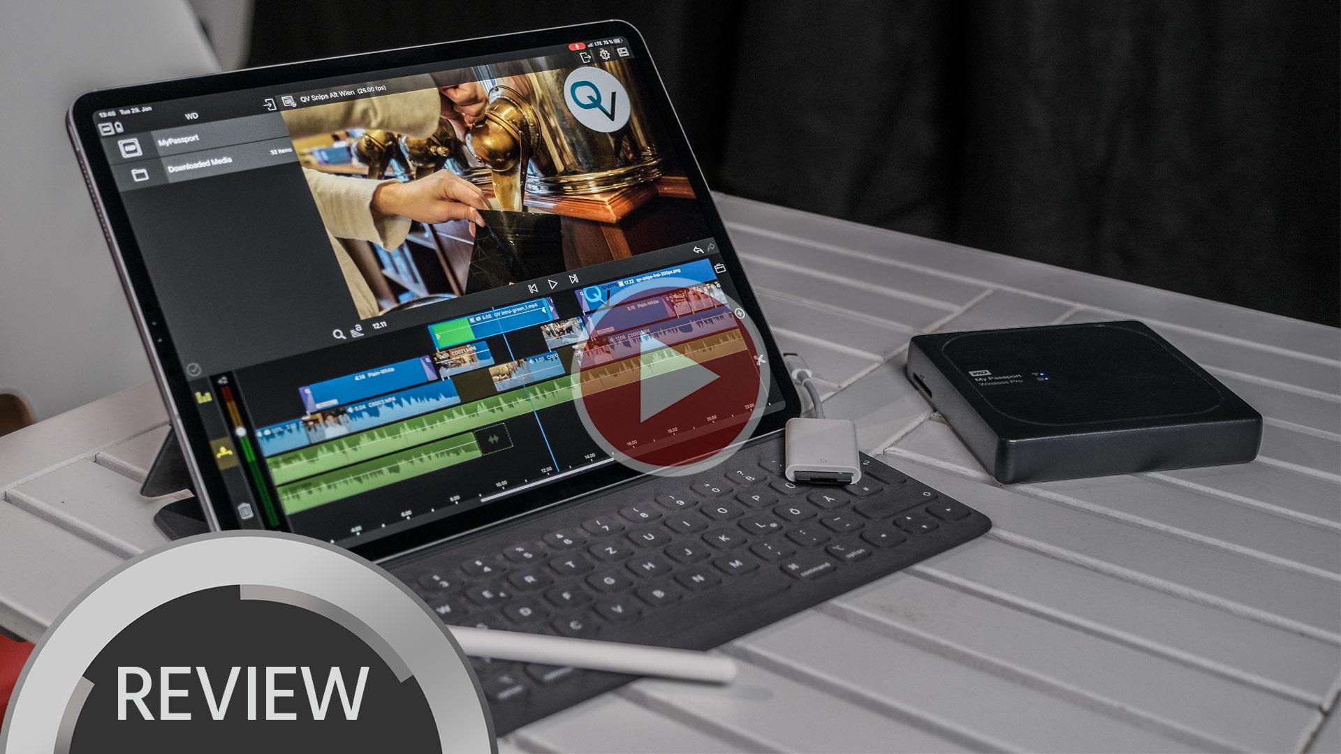 Edición rápida de video en el iPad Pro con LumaFusion – una guía de flujo de trabajo