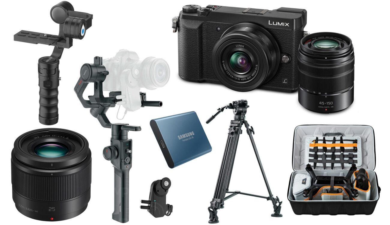 This Week's Top 10 Deals for Filmmakers – Panasonic GX85, Tripod, Gimbals, SSD and More