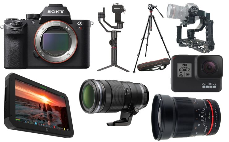 This Week's Top 10 Deals for Filmmakers – Sony a7R II, GoPro HERO7, Crane 2 and More