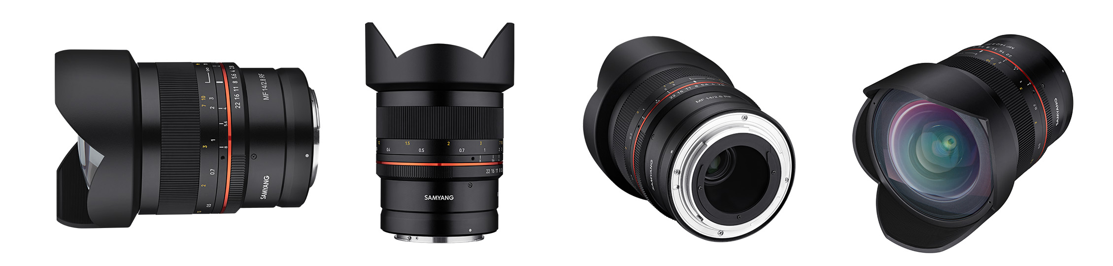 Samyang Announces First Canon RF Mount Lenses - 14mm f/2 8
