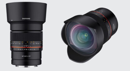 Samyang Announces First Canon RF Mount Lenses - 14mm f/2.8 and 85mm f/1.4