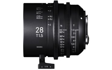 SIGMA 28mm T1.5 Full-Frame Cine Lens Shipping Soon