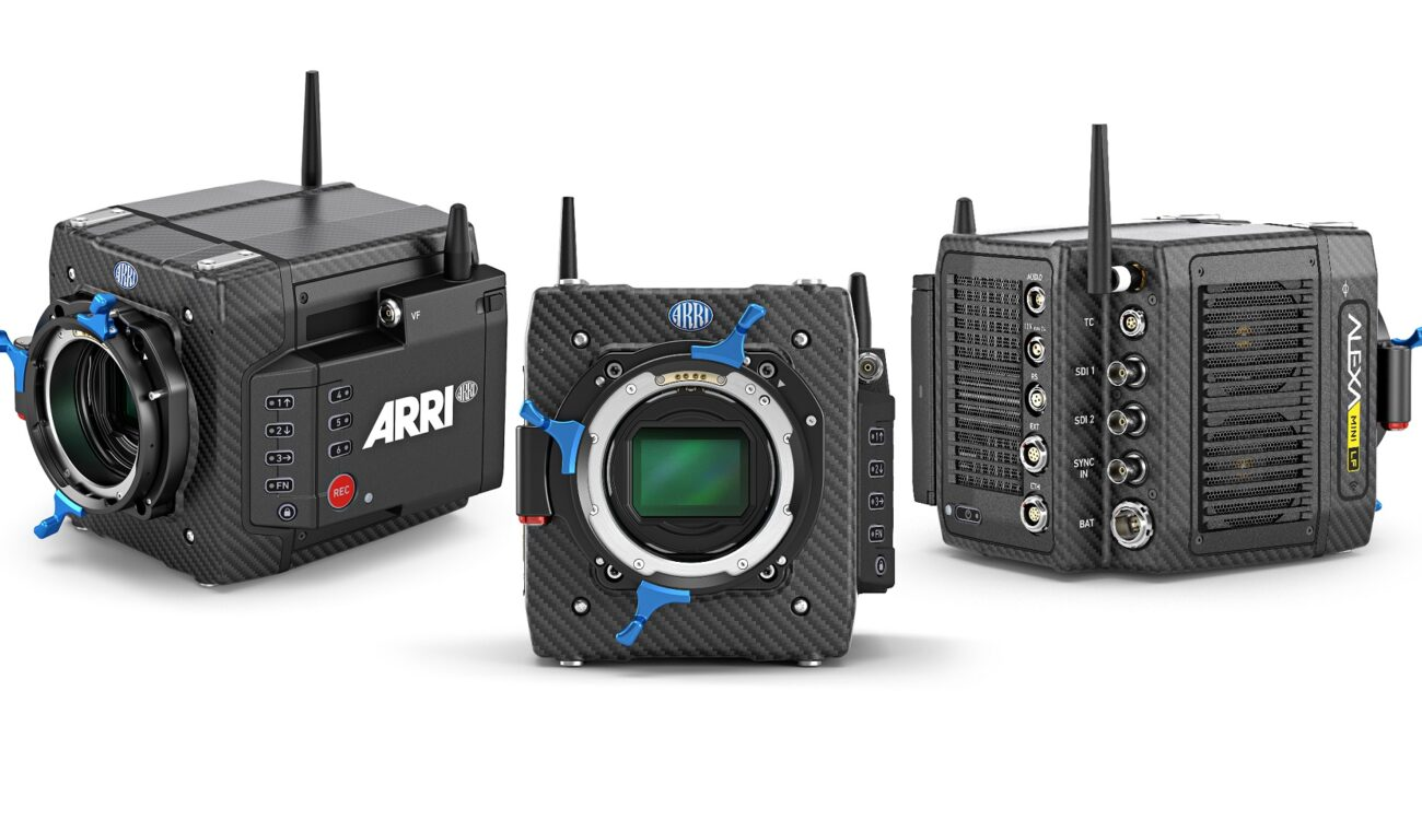 ARRI ALEXA Mini LF Announced - Large-Format 4.5K Sensor in Small Camera Body