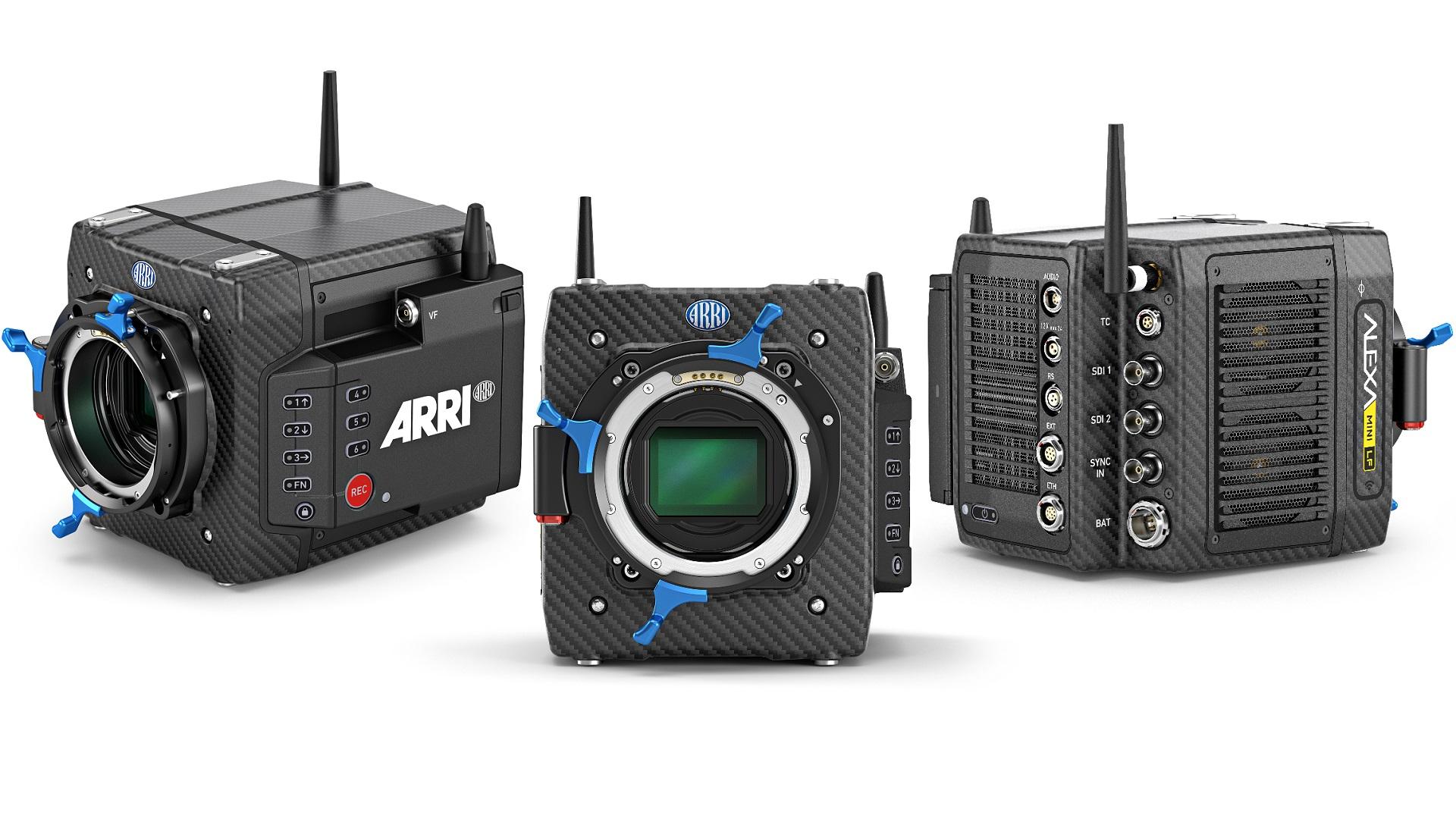 Anuncian la ARRI ALEXA Mini LF – un nuevo sensor 4.5K de formato grande en un cuerpo de cámara pequeño