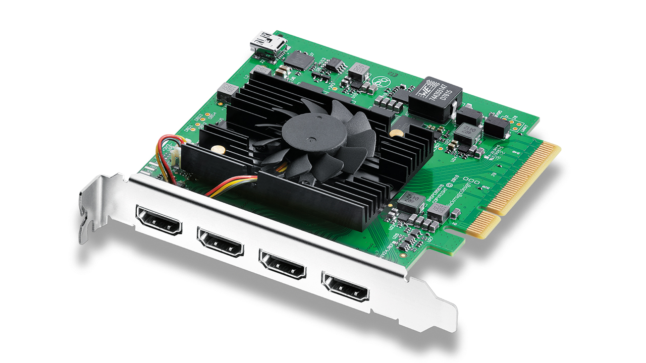 Blackmagic Introduces New DeckLink Products and DaVinci