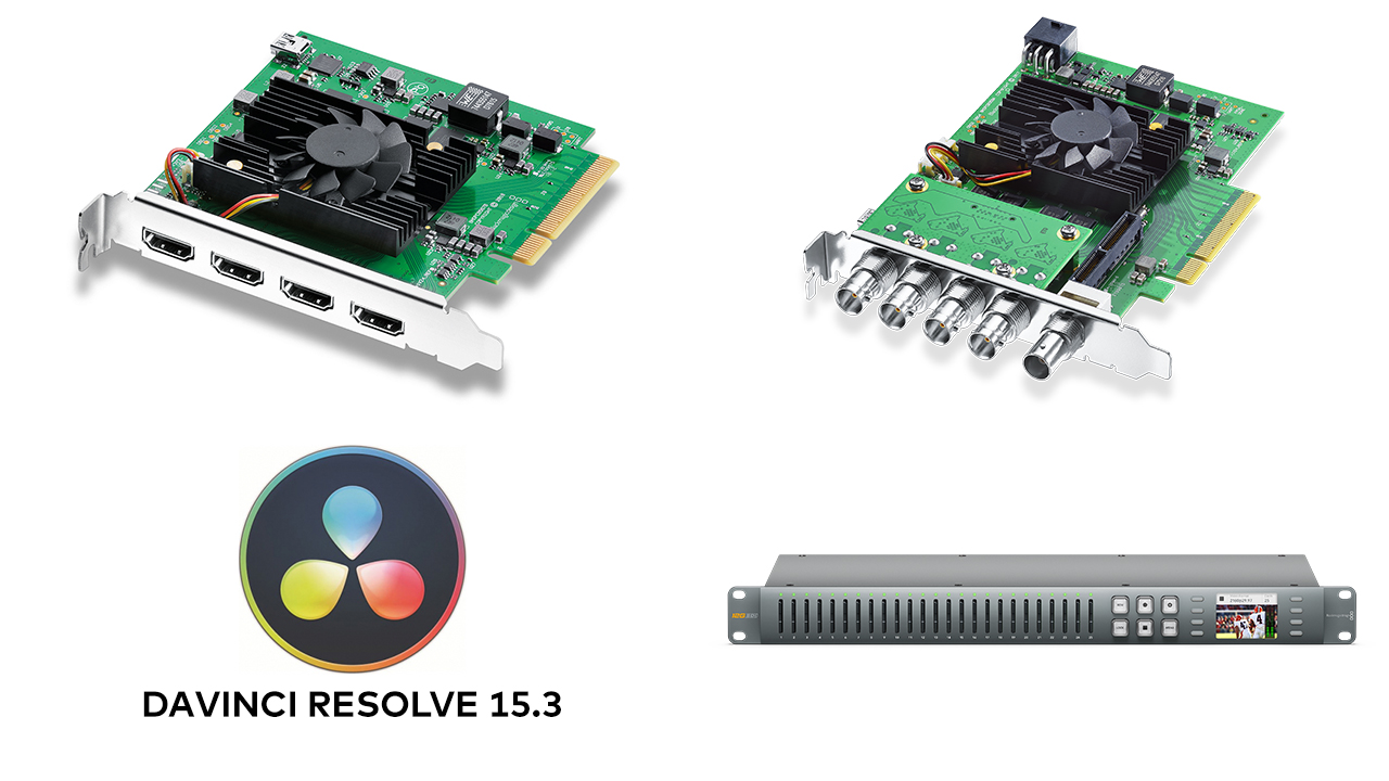 Blackmagic Introduces New Decklink Products And Davinci Resolve Update 15 3 Cined