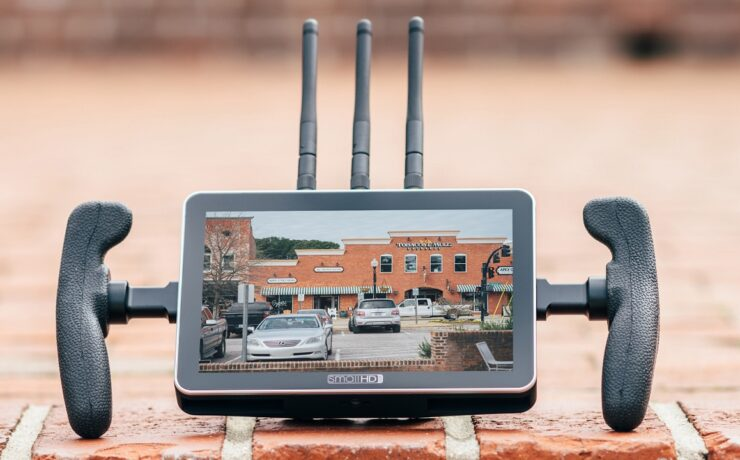 "SmallHD FOCUS 7 Bolt 500 RX - First 7"" Touchscreen Monitor with Built-in Teradek Receiver"