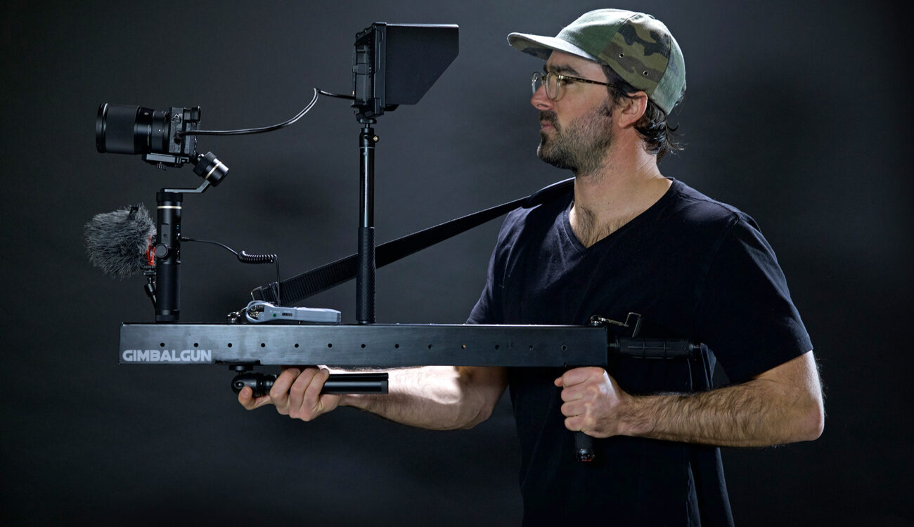 Tired of Heavy Gimbal Work? Meet the GimbalGun!
