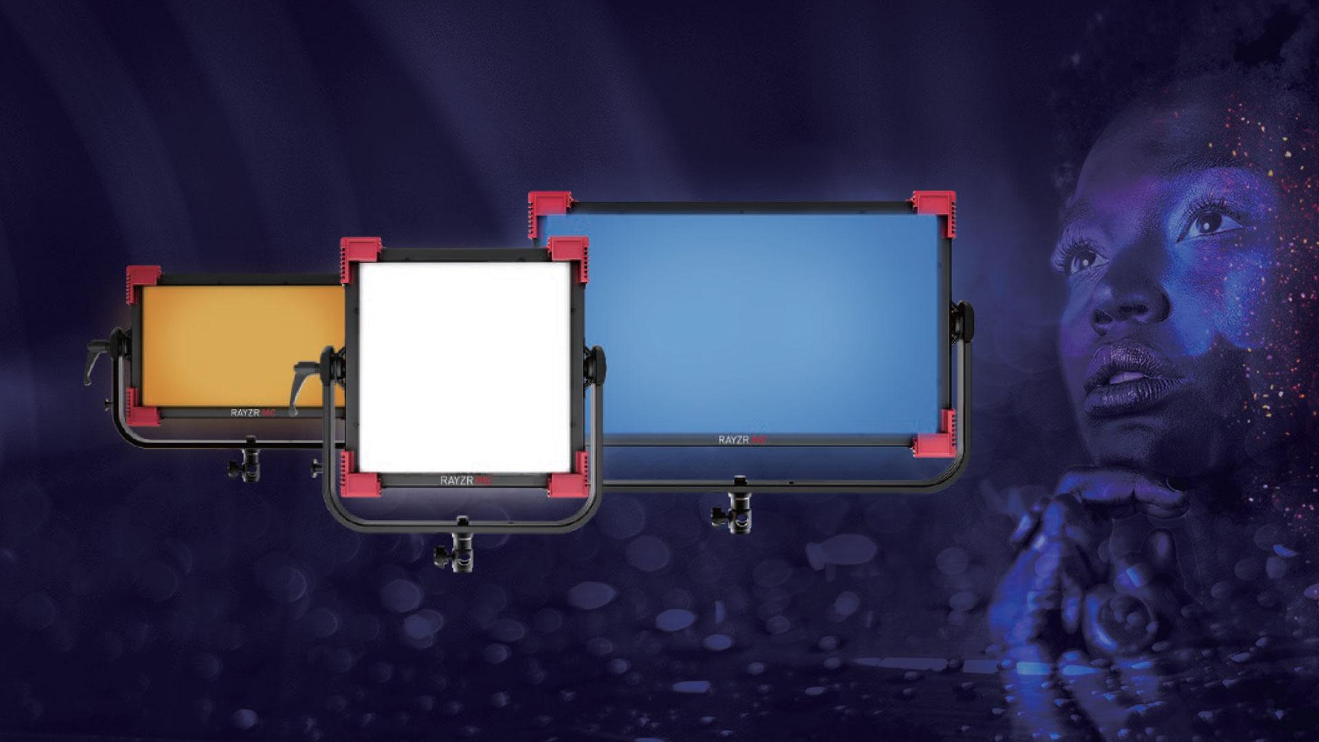 Presentaron los Rayzr MC - Paneles LED RGBWW de alta calidad