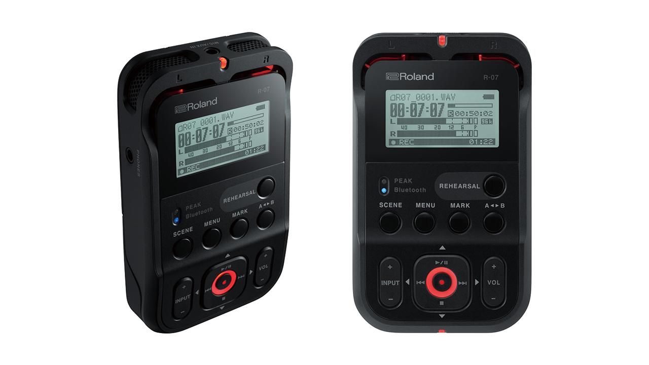 Grabadora de audio ultra-portátil Roland R-07