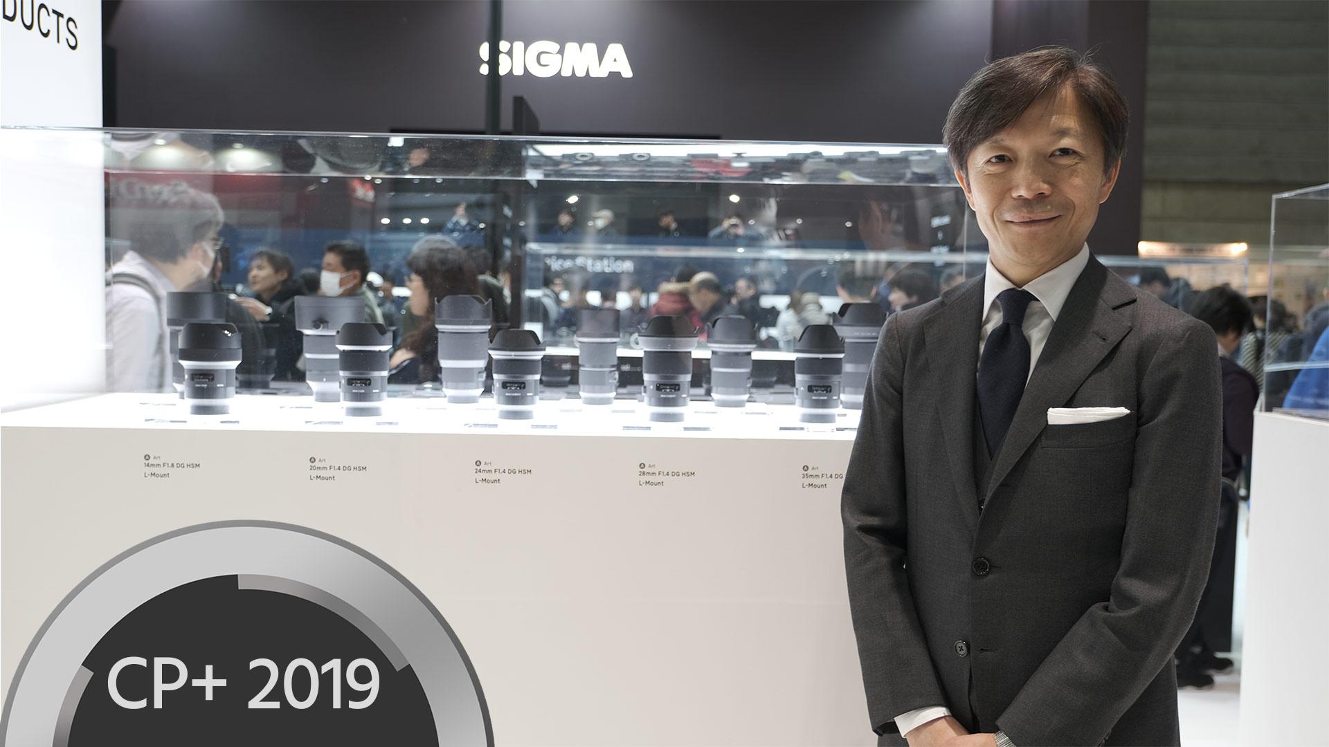 SIGMA se muestra totalmente comprometido con la montura L-Mount - Entrevista con el CEO de SIGMA, Yamaki-san