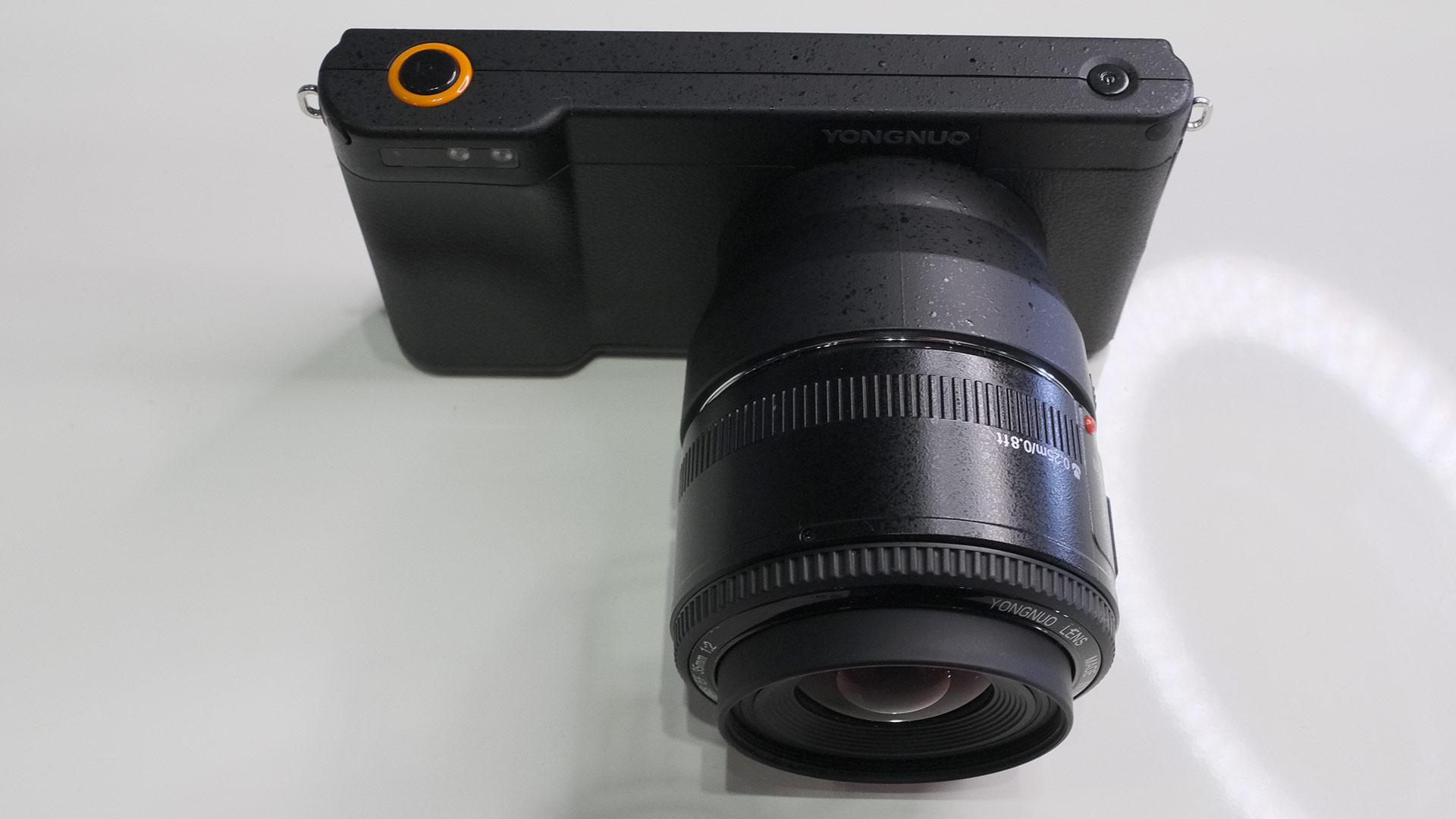 Yongnuo YN450 Android Camera Explained - Micro 4/3 and EF