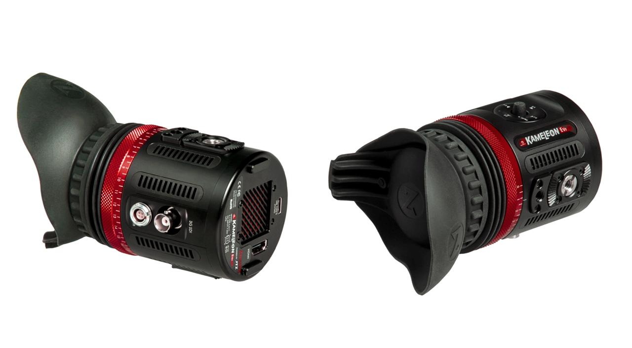 ZacutoがKameleon EVFを発表 - HDMIとSDI入力で1080pの解像度