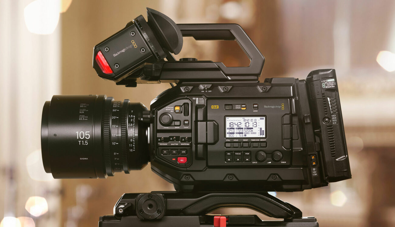 Blackmagic URSA Mini Pro 4.6K G2 - First Slow-Motion Footage