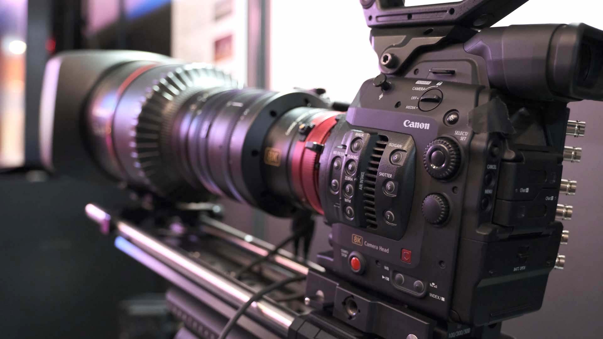 Cámara de cine Canon 8K – Primeras imágenes oficiales