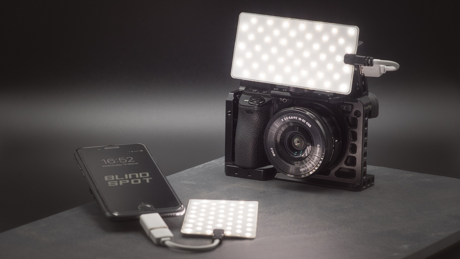 Crack Light – pequeña luz LED flexible impermeable, ahora en Kickstarter