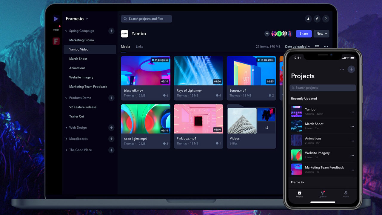 Frame.io Releases Major Update - 10 New Features to Improve Video Workflows
