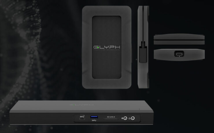 Glyph Thunderbolt 3 Dock Supports Dual 4k Displays - Atom NVMe SSD writes up to 2800 MB/s
