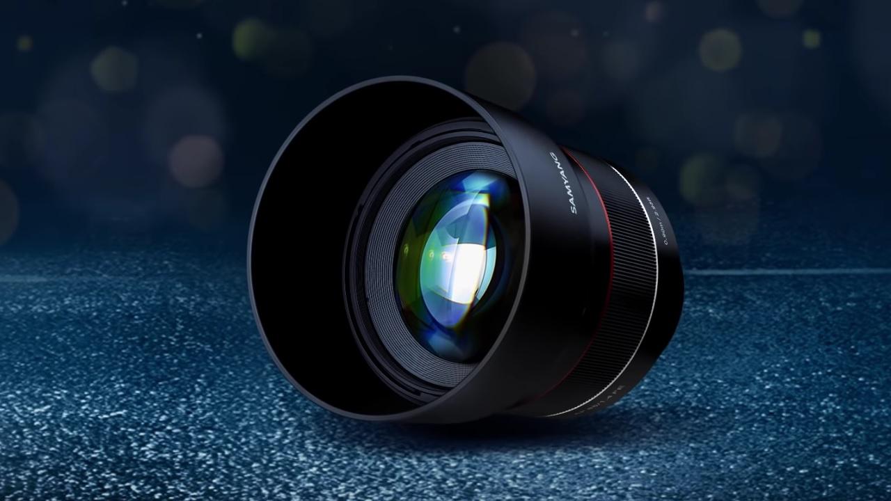 Nuevo lente con enfoque automático Samyang 85mm F1.4 Montura FE – Ya está disponible para pre-pedidos