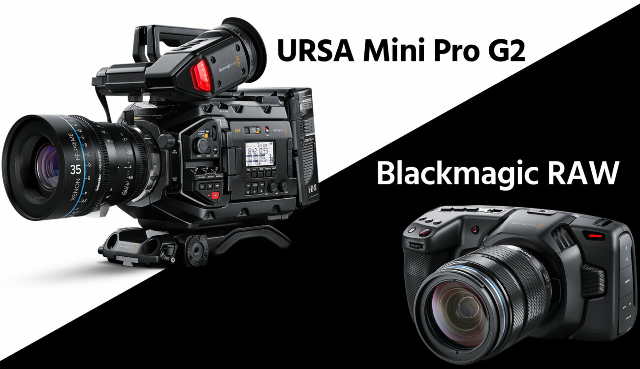 Blackmagic URSA Mini Pro G2 Introduced, Pocket 4K Gets Blackmagic RAW, No More DNG