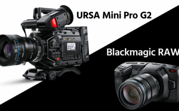 Blackmagic URSA Mini Pro G2 Introduced, Pocket 4K Gets Blackmagic RAW, No More DNG