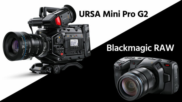 Blackmagic Ursa Mini Pro G2 Introduced Pocket 4k Gets Blackmagic Raw No More Dng Hdr360pro Com