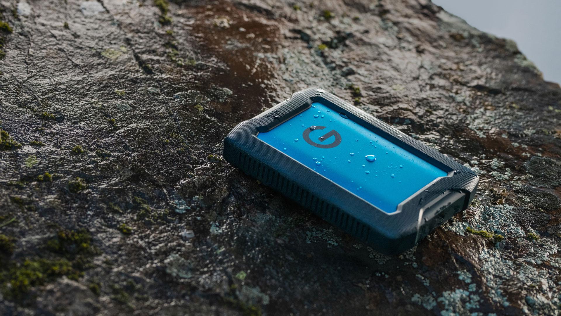 G-Technology anuncia el ArmorATD, un disco rígido portátil y resistente