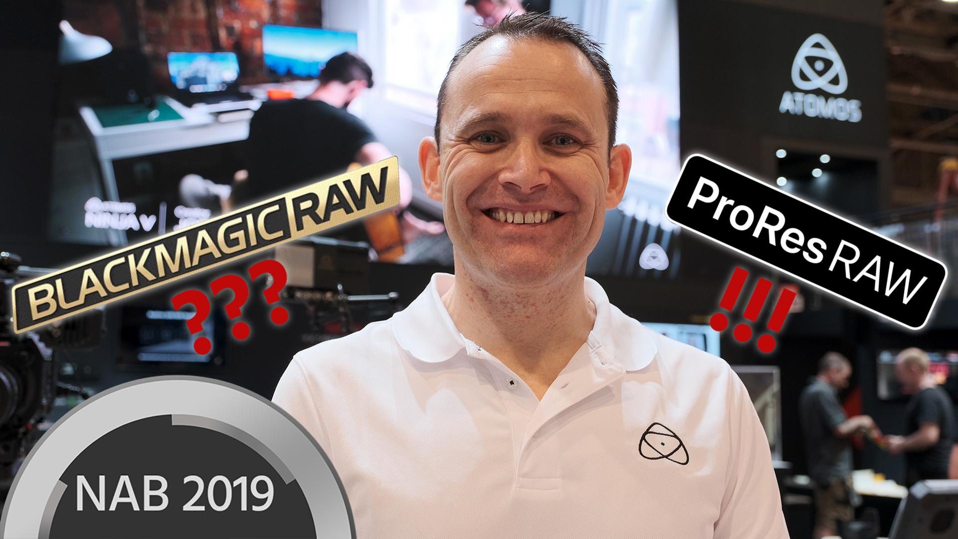 ProRes RAW vs Blackmagic RAW – Entrevista con Jeromy Young, CEO de Atomos