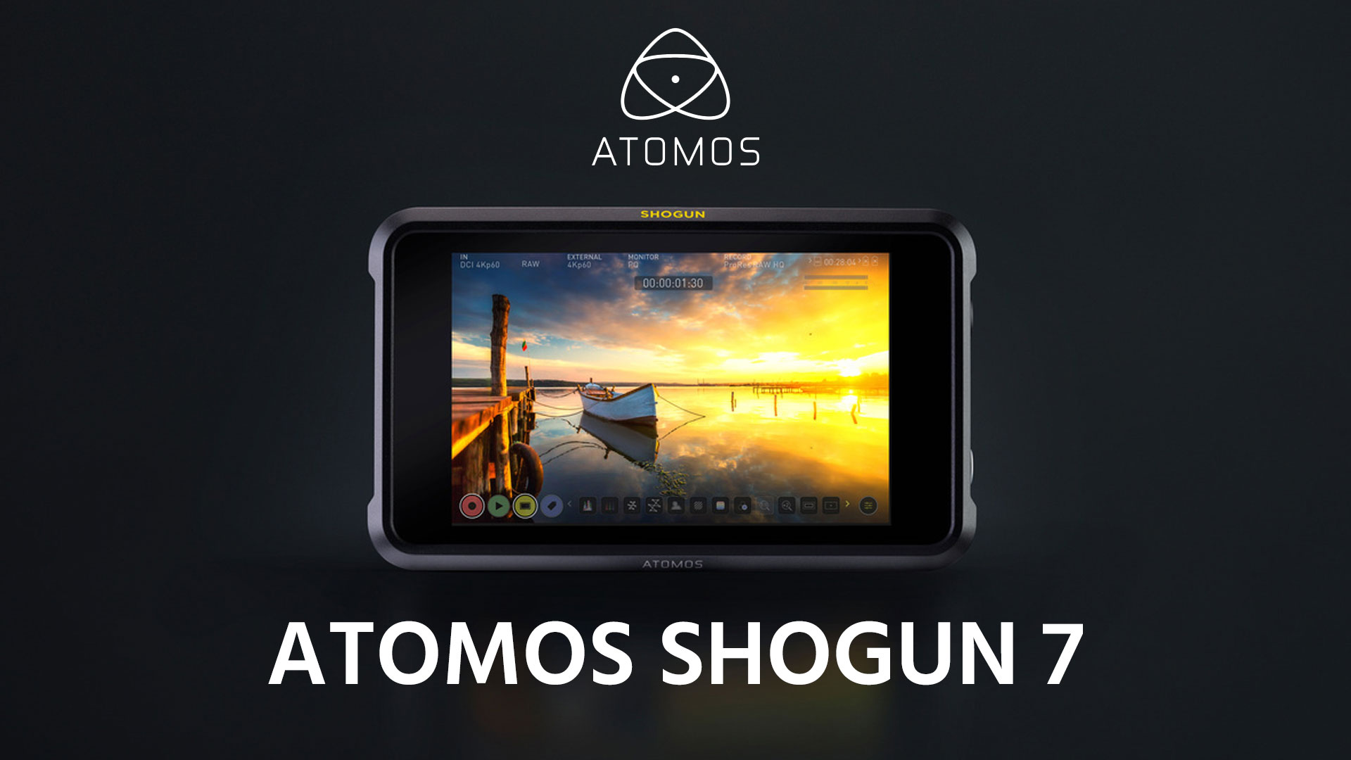 AtomosがShogun 7を発表 - 5.7K ProRes RAWをサポート