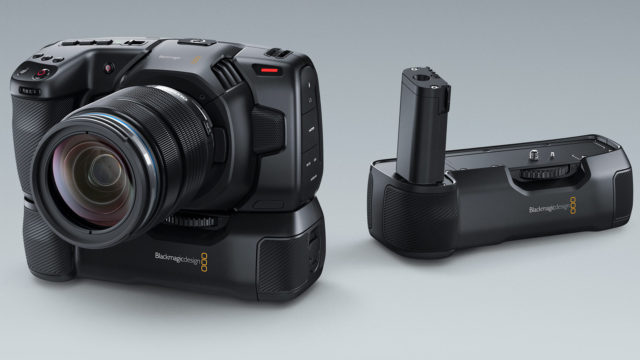 Empuñadura de Batería para la Pocket Cinema Camera 4K de Blackmagic Design
